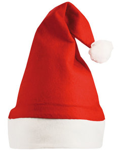 Kerstmuts met naam of logo