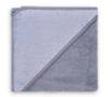 Badcape-grijs-met-naam-geborduurd